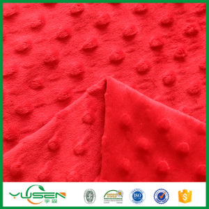 China Textile 100% Polyester Velvet Upholstery Fabric pictures & photos