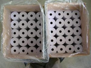 Thermal Paper for POS, ATM, Cash Registed, Supermarket pictures & photos