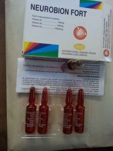 GMP Certified Vitamin B Complex Injection pictures & photos