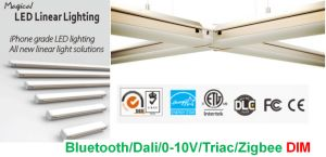 Zigbee LED Office Linear Light with Connect Freely Commercial Lighting 1.2m 45W 6000lm pictures & photos