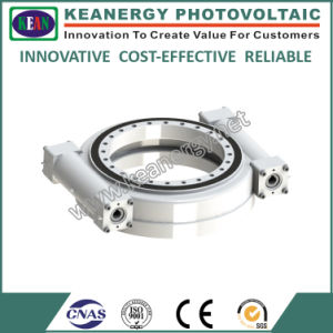 ISO9001/CE/SGS High Effeciency Two Worms Slew Drive pictures & photos