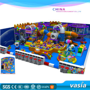 2016 New Design Kids Indoor Playground with Soft Games pictures & photos