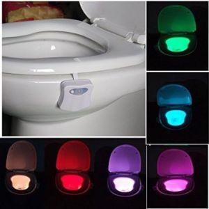 Motion Sensor LED Toilet Night Light From China