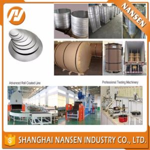 Making Kithchen Aluminum Cookers (A1050 1100 3003) Aluminum Alloy Sheet Circles pictures & photos