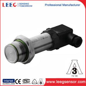 Hygienic Flush Diaphragm Pressure Sensor Transmitter for Level Measurement pictures & photos