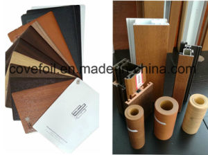 PMMA (acrylic) Faced PVC Foil for Exterior Use for Window Profiles pictures & photos