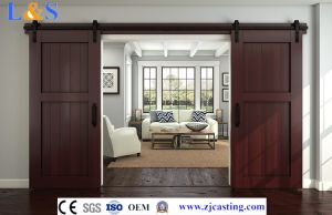 Wooden Sliding Door Hardware (LS--SDU-104) pictures & photos