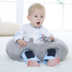Round Plush Baby Pillow with PP Cotton pictures & photos