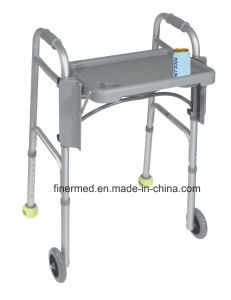 Aluminum Folding Walker with Tray pictures & photos
