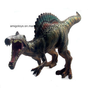 Promotional Soft Plastic Dinosaur Toy Filled with Cotton for Kids and Children pictures & photos