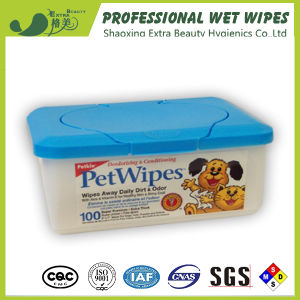 Antiseptic Natural Wet Tissues Fragrance Unscented Pet Wipes pictures & photos