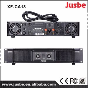 Jusbe Xf-Ca18 Class H 1200-1800 Watts High Power PA Sound System Stage Performance Loudspeaker Amplifier for Outdoor pictures & photos