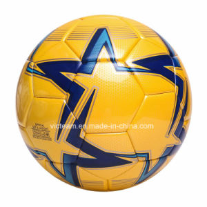 Incomparable Size 5 Shiny Real Match Soccer Ball pictures & photos