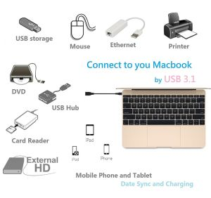USB 3.0 A Socket to Type C Plug Cable pictures & photos