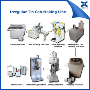 1-4L Rectangular Tin Can Container Making Machine Line pictures & photos