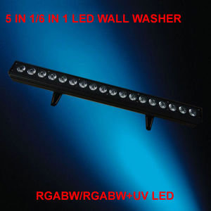 High Brightness 18PCS Rgabw 5in1 Wall Washer LED PAR Can