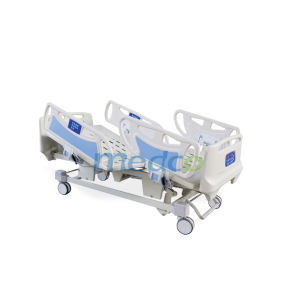 Five Functions Luxury ICU Electric Hospital Bed pictures & photos