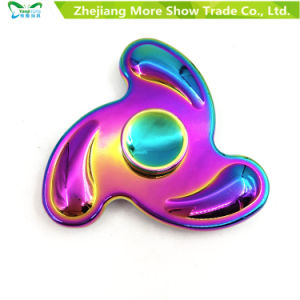 Rainbow Colors Metal Alloy EDC Hand Fidget Spinner High Speed Focus Toy Gifts pictures & photos