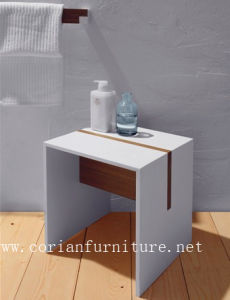 Corian Solid Surface Bathroom Shower Bench pictures & photos