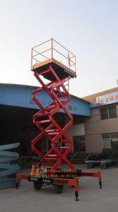 1ton 6m Hydraulic Scissor Elevators (SJY1-6) pictures & photos