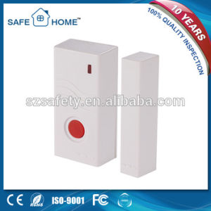 Battery Operated Wireless Door Contact Sensor Magnetic Reed Switch pictures & photos
