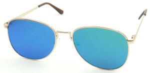 Fqm16769 Hotsale Polular Flat Frame Metal Sunglass pictures & photos