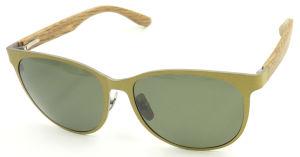 Fqiw162447 Quality New Design Colorful Metal Sunglasses Titanium Material pictures & photos
