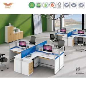 2017 New Style Customized Office Cubicles Desk Partition Workstation for Modern Office System (H15-0802) pictures & photos