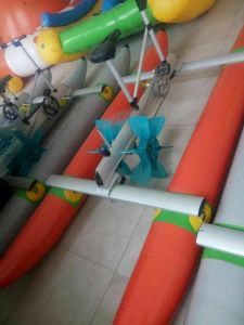 Water Bikes PVC Inflatable Pedal Boats Hydro Bikes Waterbird Water Bike pictures & photos