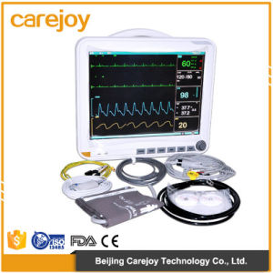 Portable Multi Parameter Patient Multiparameter Monitor Professional Patient Monitor-Candice pictures & photos