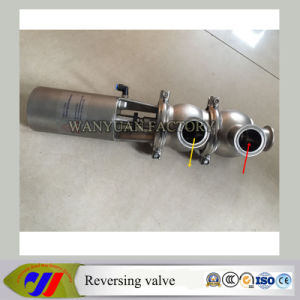 Sanitary Stainless Steel Pneumatic Reversing Valve pictures & photos
