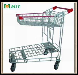 Warehouse Flat Trolley Mjy-M05 pictures & photos