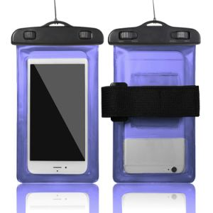 Wholesale Price Waterproof Mobile Phone Pouch Transparent Dry Bag with Armband pictures & photos