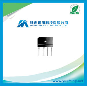Electronic Component Diode of Single-Phase Silicon Bridge Rectifier pictures & photos