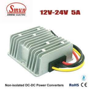12V-24VDC 5A 120W DC-DC Converter Car Power Supply with Waterproof pictures & photos