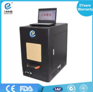 Best Quality Most Popular Ce Fiber Portable Laser Marking Machine for Metal pictures & photos