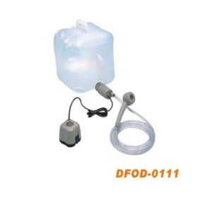 Outdoor Portable Battery Operated Shower for Emergency pictures & photos