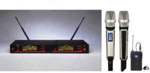 Gymsense Dual UHF Pll True Diversity Wireless Microphone System pictures & photos