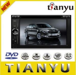 6.2 Inch Double DIN Car DVD 6206 pictures & photos