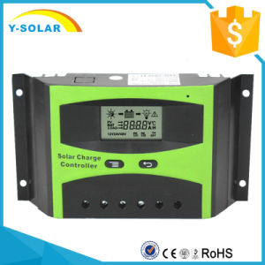 60A 12V 24V Solar Panel Controller/Regulator LCD Display for Solar Home System with Light Timer Control Ld-60b pictures & photos