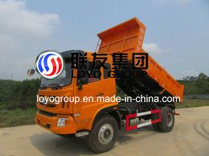 Sinotruk Cdw Medium Duty 4X2 10-15m3 Small Dumper Truck pictures & photos