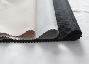 100% Polyester Gabardine Fabric (SLTN9183) pictures & photos