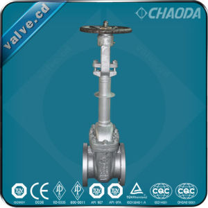 Cast Steel Cryogenic Gate Valve pictures & photos