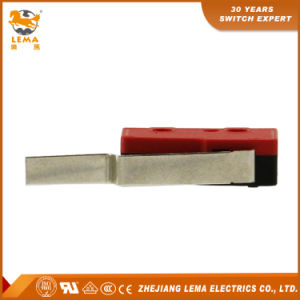 Lema Kw12-93 5A Long Bent Lever Welding Terminal Miniature Micro Switch pictures & photos