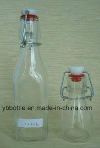 90ml Swing Top Glass Drinking Bottle