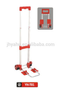 Hot Sale High Quality Cheap Manufactory Handtruck Hand Trolly (YH-T01) pictures & photos