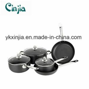 8PCS Non-Stick Hard Anodize Aluminum Cookware Set pictures & photos