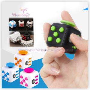 Rubik Cube Stress Release Magic Fidget Cube Mini Desk Toys pictures & photos