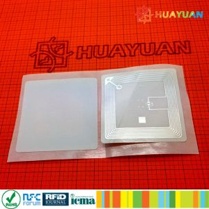 RFID Printable Adhesive ICODE SLI Label for document management book Tracking pictures & photos