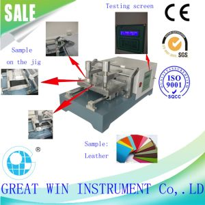 Crock Meter/Leather and Textile Crock Testing Machine (GW-020) pictures & photos